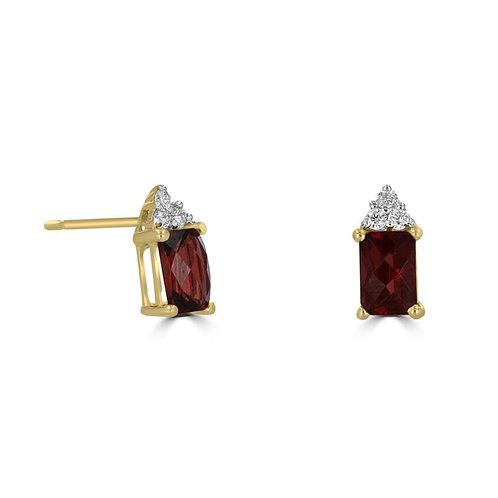 Empire Collection Garnet Earrings