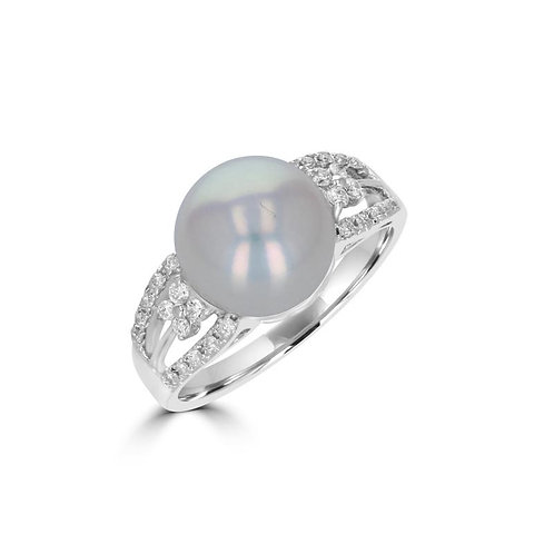 Empire Collection Fancy Pearl Ring