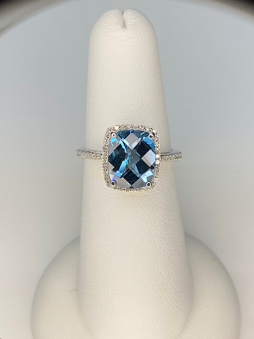 Arkk London Blue Topaz Ring