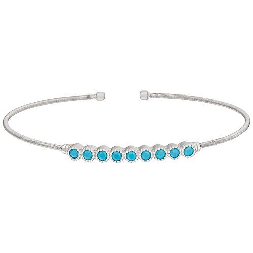 Bella Cavo Turquoise Flexible Bracelet