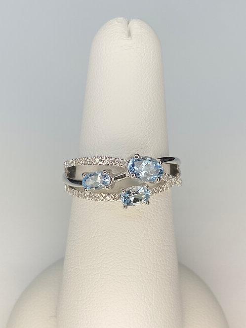 Arkk Aquamarine Ring