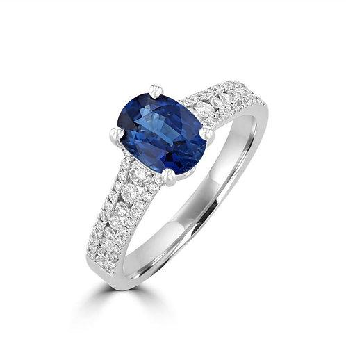 EMPIRE Sapphire Ring