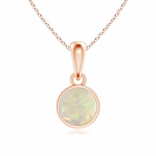 EMPIRE Bezel Set Opal Pendant