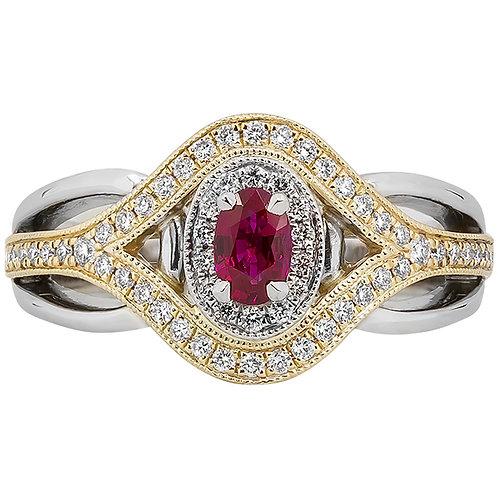 REGO Ruby Ring