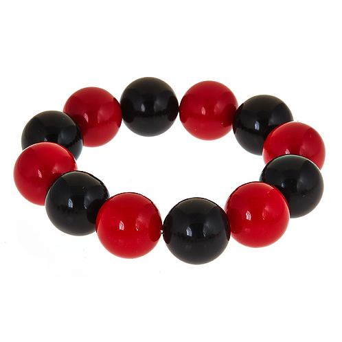Two Tone Candy Bracelet Fornash