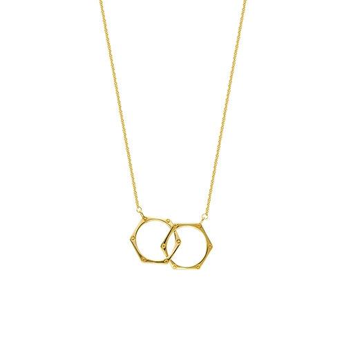 MIDAS Hexagon Necklace