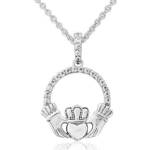 Waterford Claddagh Necklace