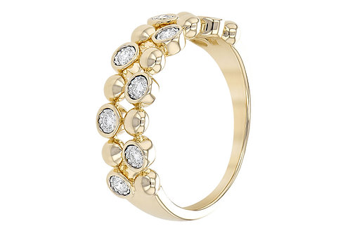 Allison Kaufman Ladies Beaded Ring