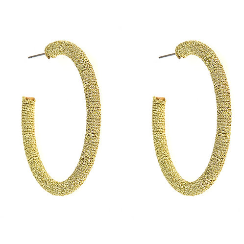 Large Taylor Hoop Earrings Fornash
