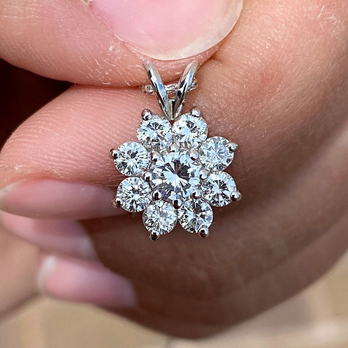 Clements Original Diamond Pendant