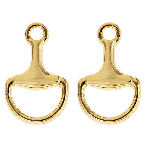 Horsebit Earrings Fornash