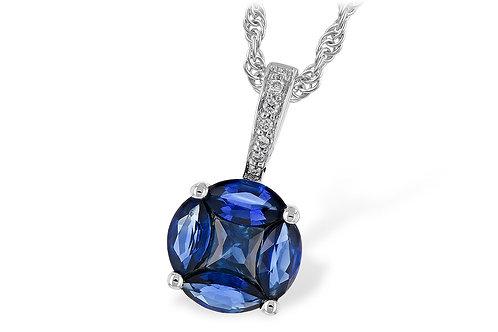 Allison Kaufman Sapphire Pendant