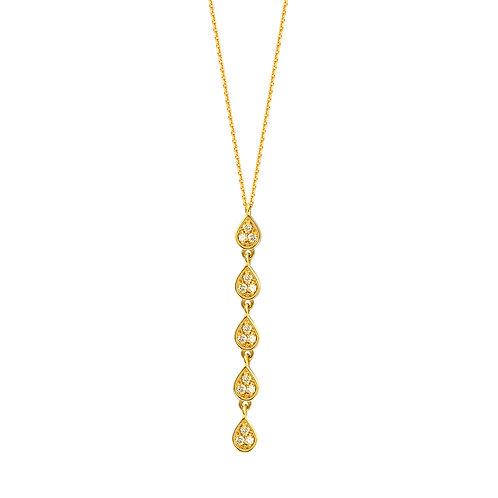 MIDAS Pear Drop Necklace