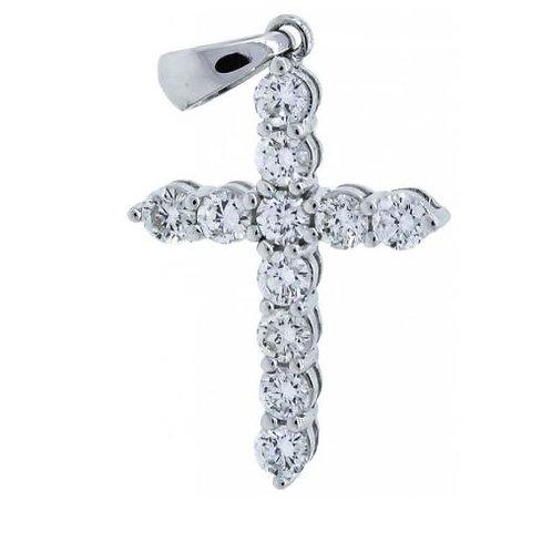 APEX Diamond Cross Necklace