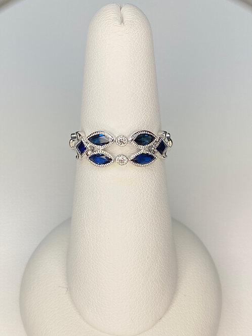 Virgo Star Sapphire Ring
