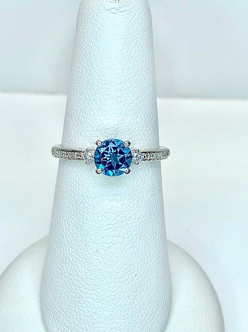 ARKK London Blue Topaz Ring