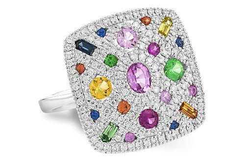 Allison Kaufman  Multi Color Ladies Fashion Ring