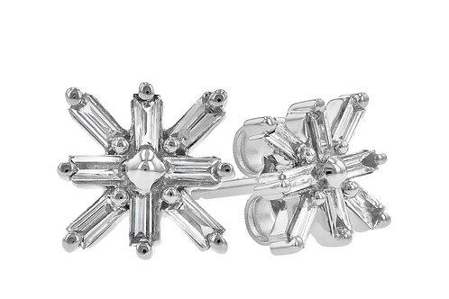 Allison Kaufman Snowflake Earrings