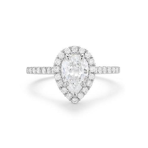APEX Pear Diamond Engagement Ring