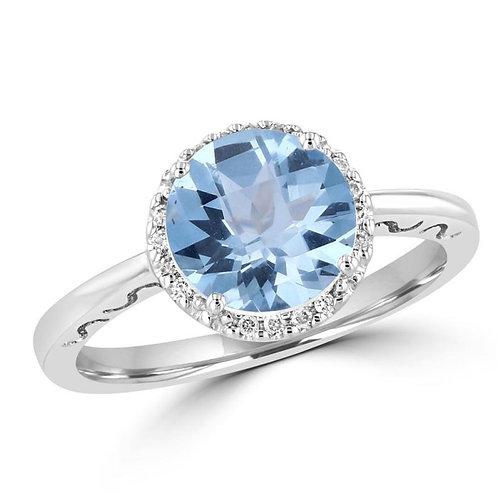 EMPIRE Aquamarine Ring