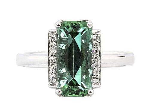 Rego Designs Green Tourmaline Ring