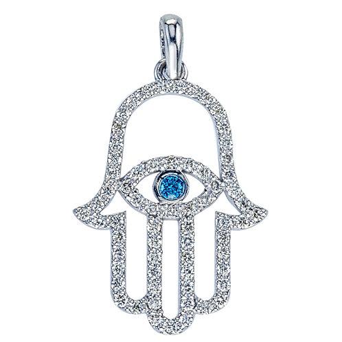 Diamond Hasma Pendant