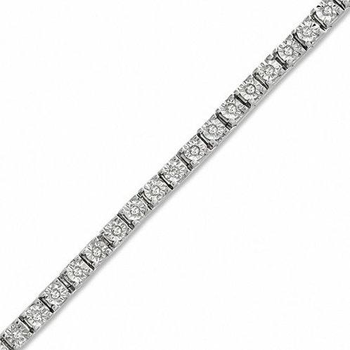 1CT Diamond Tennis Bracelet
