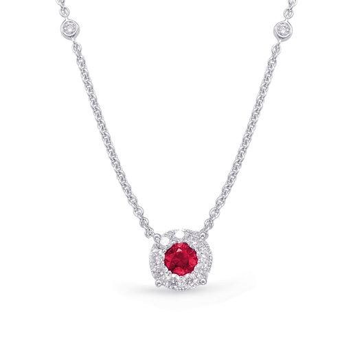 S.Kashi Ruby Necklace