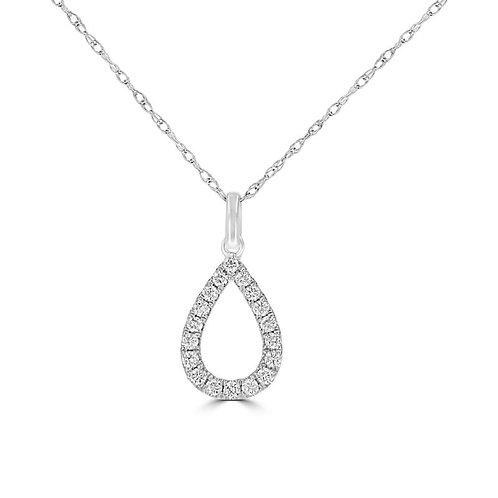 EMPIRE Pear Diamond Pendant