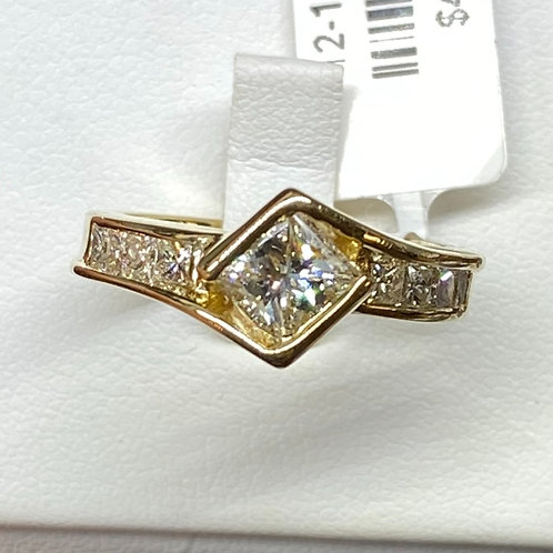 Apex Engagement Ring Princess Cut