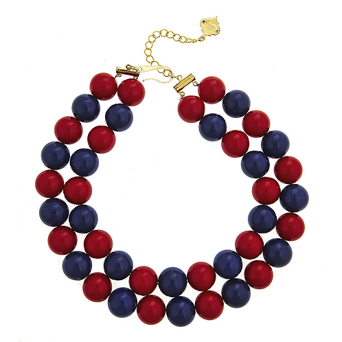 Two Tone Candy Necklace Fornash