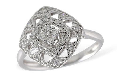 Allison Kaufman Ladies Diamond Fashion Ring