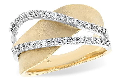 Allison Kaufman Diamond Wave Ring
