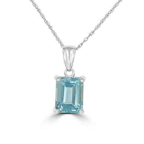 EMPIRE Aquamarine Necklace