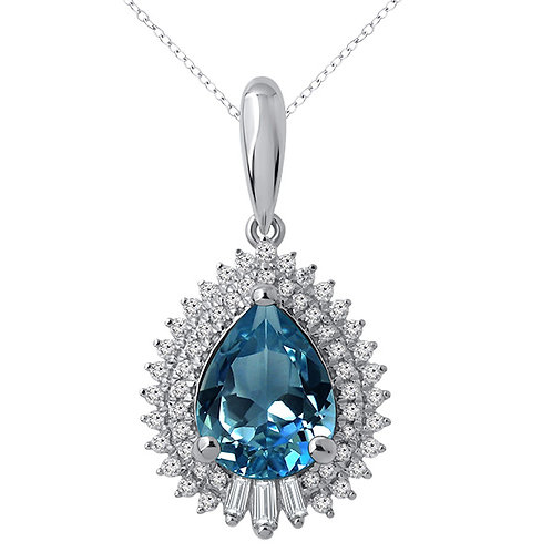 Variety Gem Sapphire Pendant