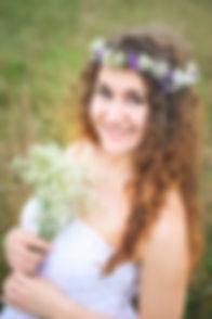 Blumenmaedchen Portrait
