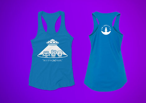 Take Us To Your Boulders Racerback Tank