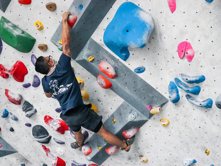 """Climbing is life: Having the right mentality for success"""