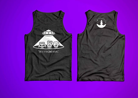 Take Us To Your Boulders Unisex Tank