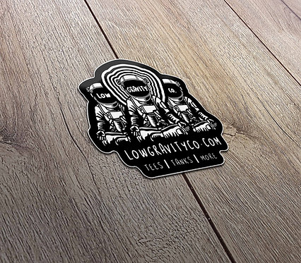 Low Gravity Co. Stickers