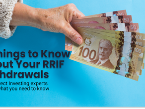 5 Things to Know About RRIF Withdrawals