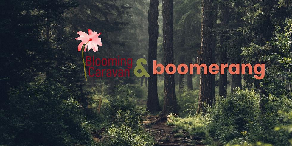 Nature Walking w. Blooming Caravan at Grenadier Cafe, High Park