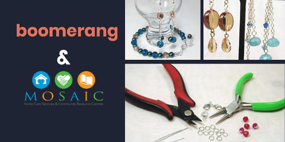 Beaded Jewellery Workshop @Mosaic HomeCare Toronto