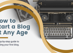 How to Start a Blog at Any Age