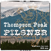 thompson peak pilsner