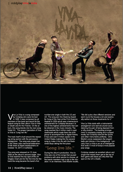 Coldplay | Viva La Vida