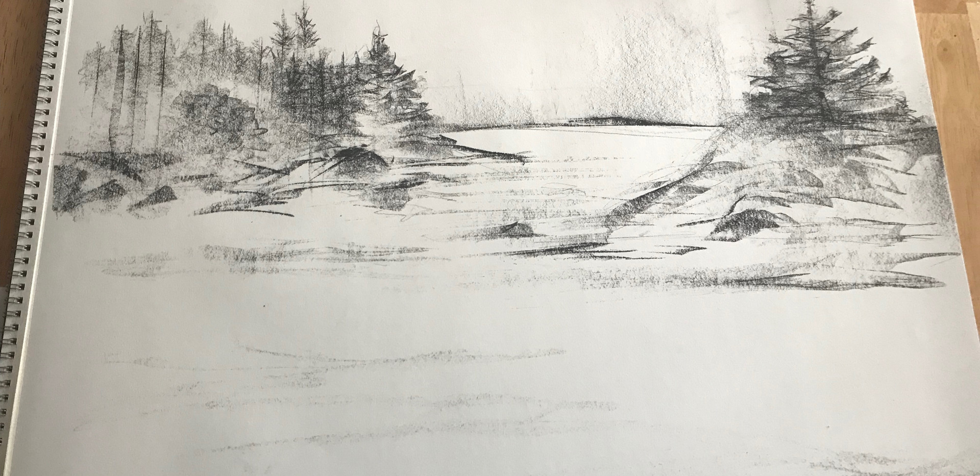 A Lobster Mans View, sketch 3