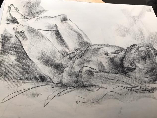 Male in recline