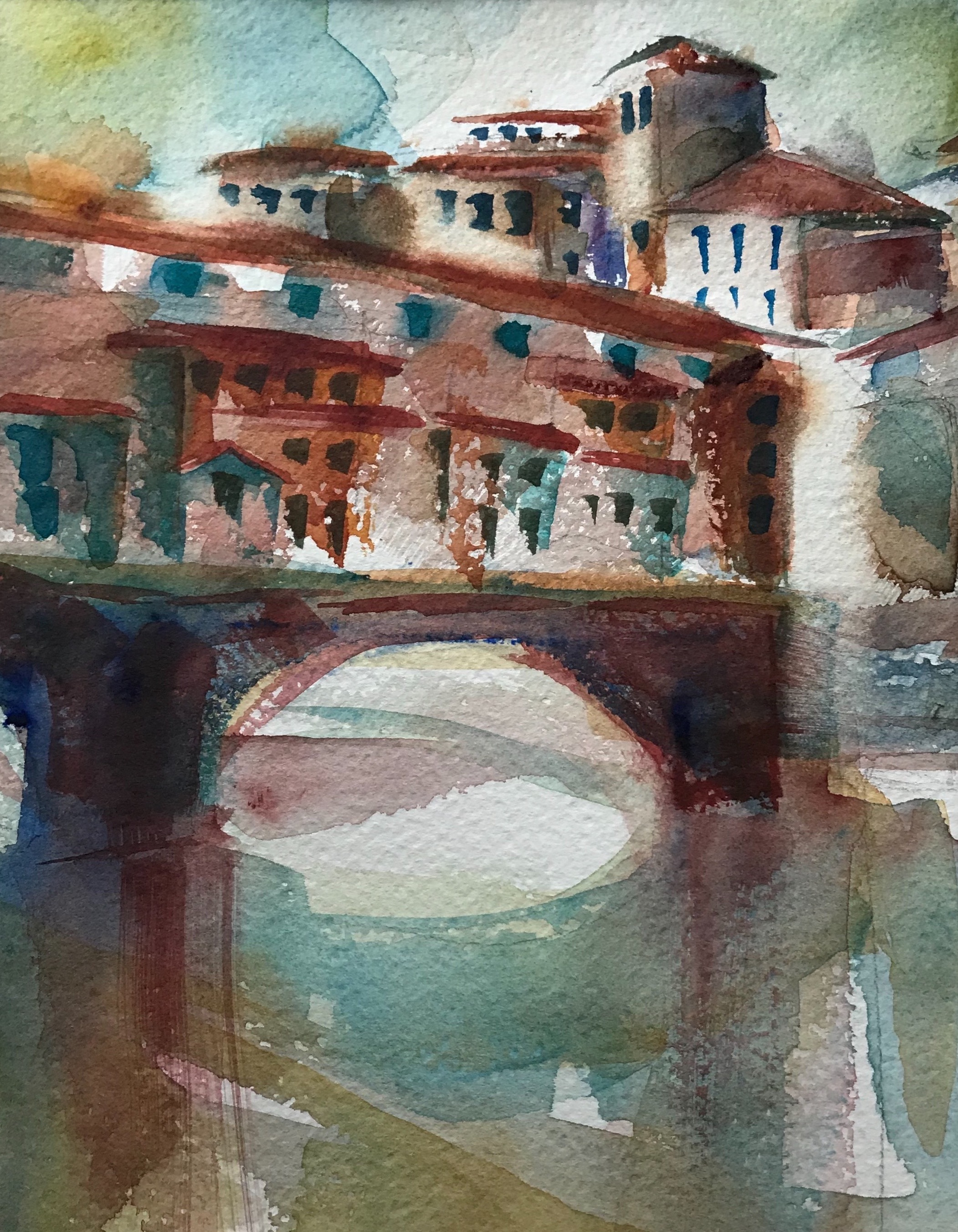 Reflections of the Ponte Vecchio