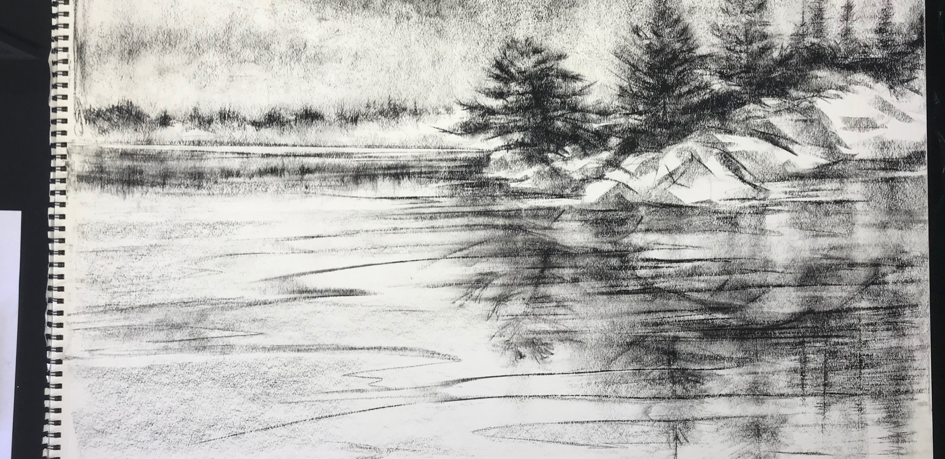 Relfections on Bayville Pond